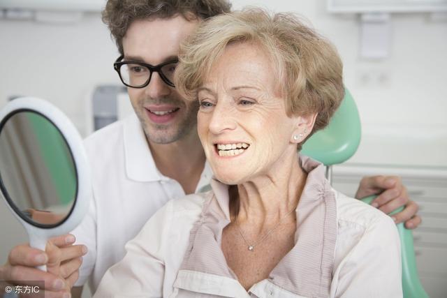 checking dental bridge